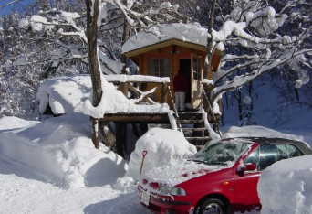 雪の中でもOK